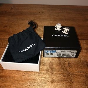 Gorgeous CHANEL studs